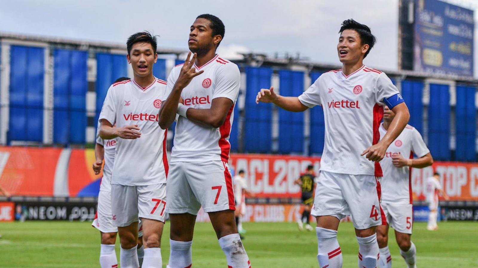 Viettel FC chia tay AFC Champions League 2021 bằng trận thắng nhọc Kaya FC