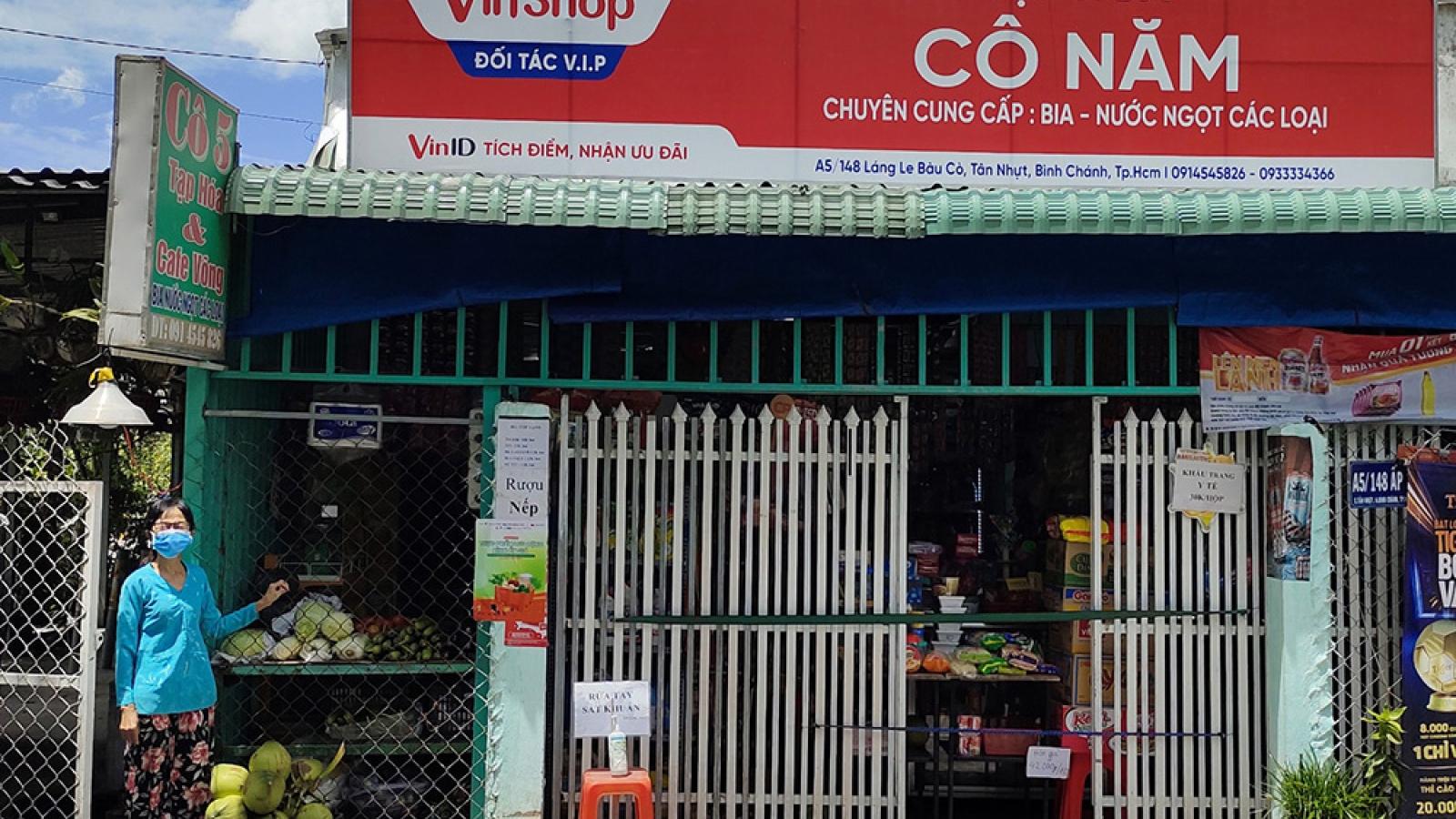 VinShop, VinID góp sức đưa nhu yếu phẩm đến tay người dân TP.HCM giữa tâm dịch