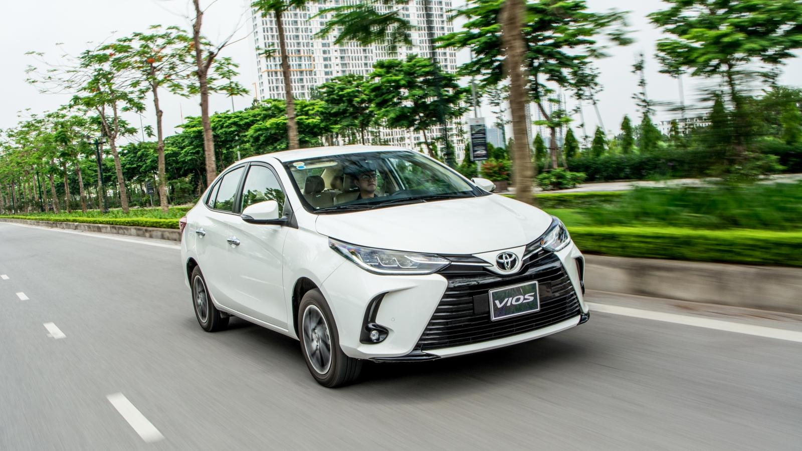 Toyota bán gần 30.000 xe tại Việt Nam nửa đầu năm 2021