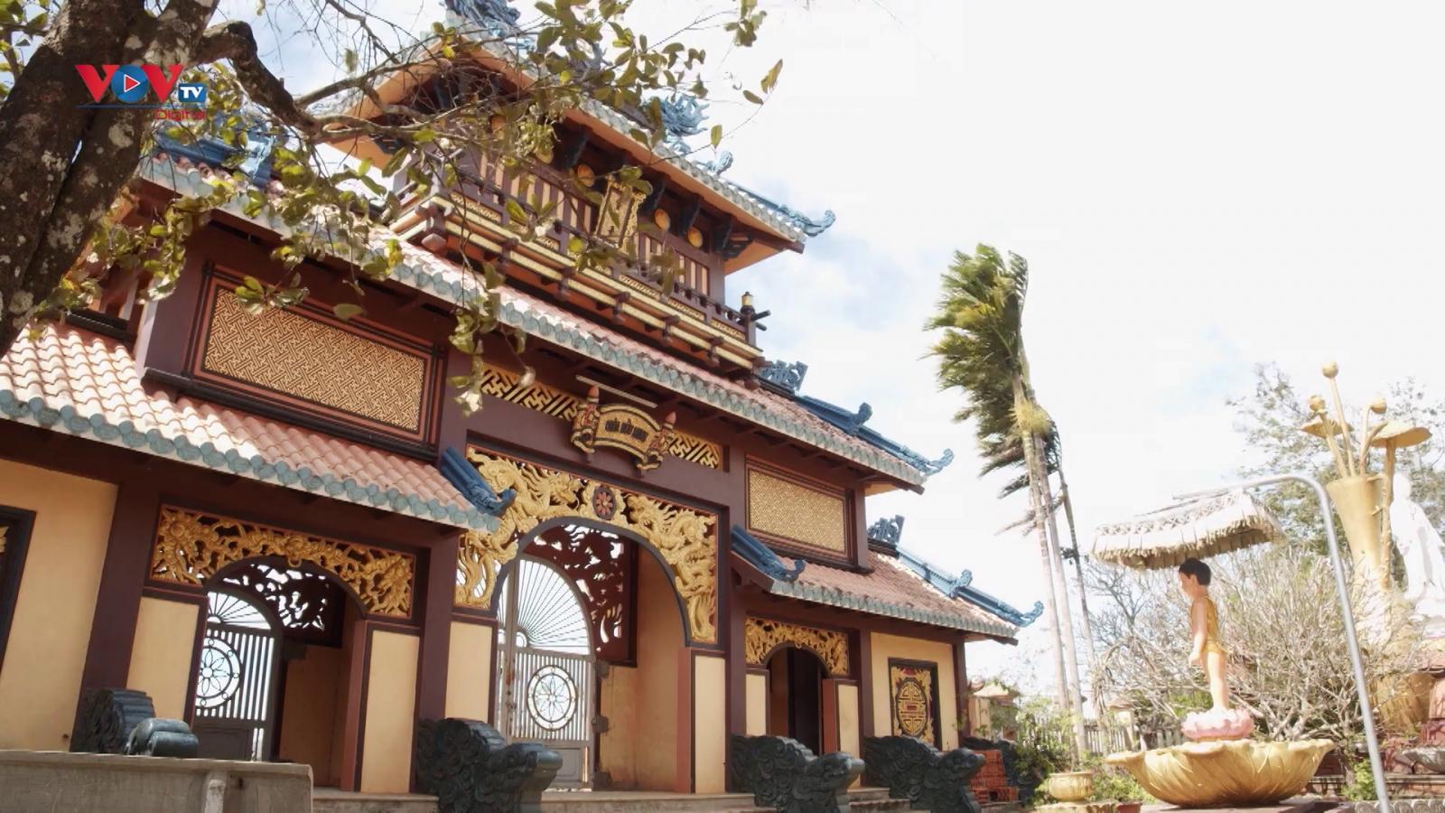 Từ ngôi chùa nhỏ thành điểm du lịch tâm linh nổi tiếng của Gia Lai