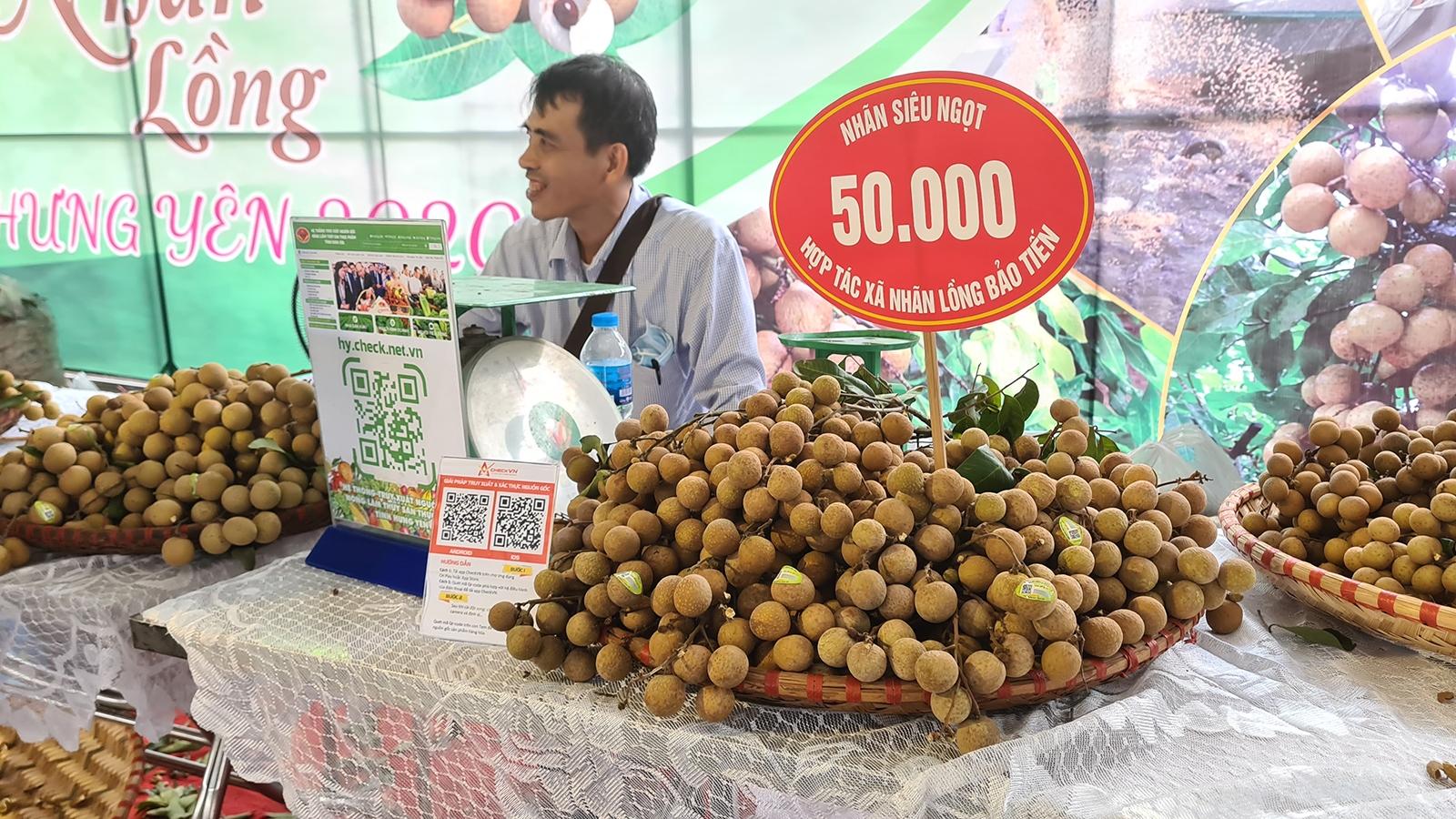 Gần 1.000 điểm cầu tham gia hội nghị tiêu thụ nhãn và nông sản tỉnh Hưng Yên năm 2021