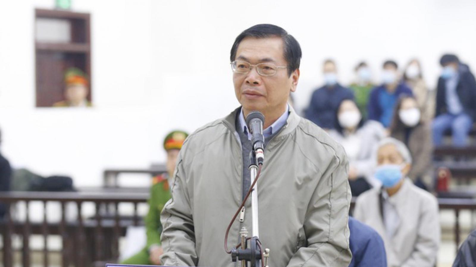 Ông Vũ Huy Hoàng bị khai trừ ra khỏi Đảng