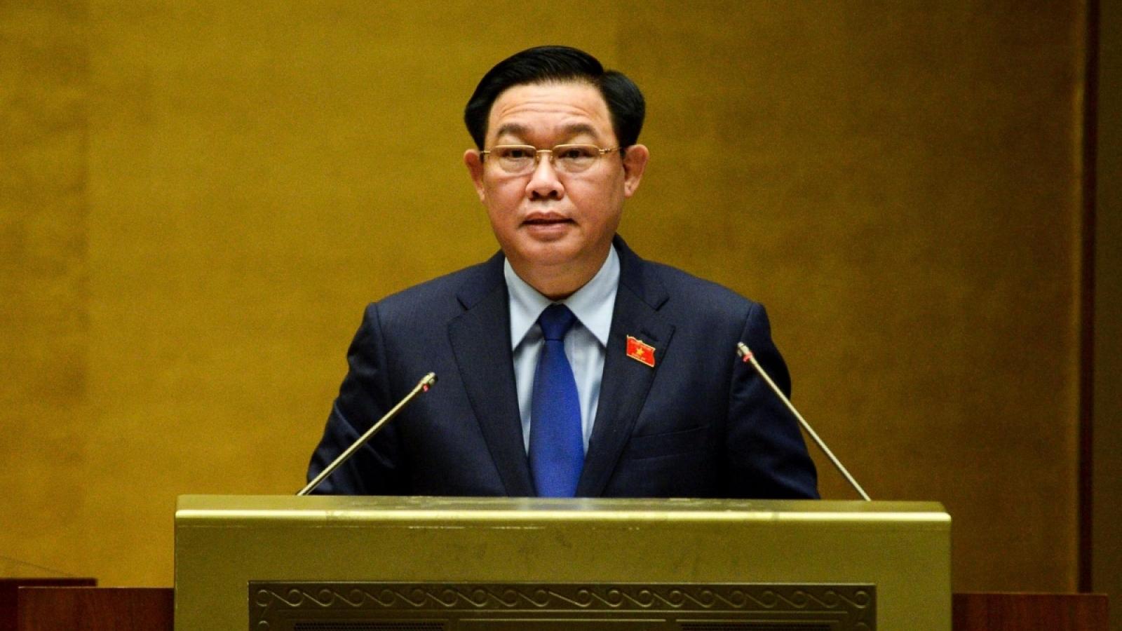 Phát biểu bế mạc Kỳ họp thứ nhất, Quốc hội Khóa XV của Chủ tịch Vương Đình Huệ