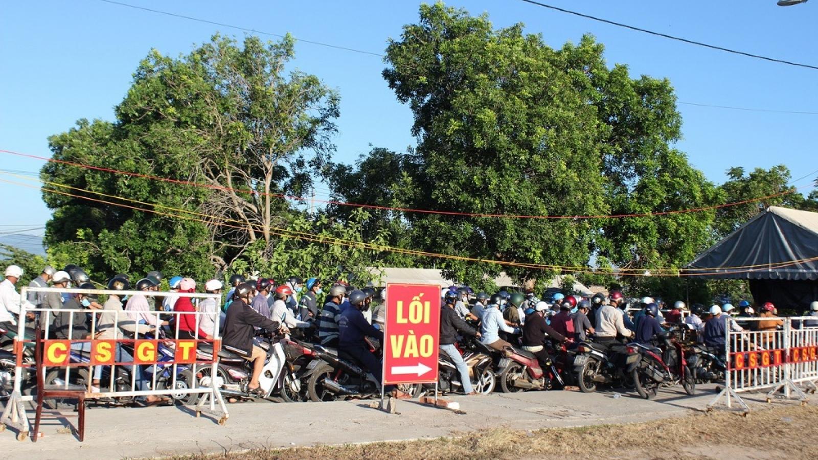 Quảng Nam hạn chế giao, nhận, phân phối hàng hoá với Đà Nẵng