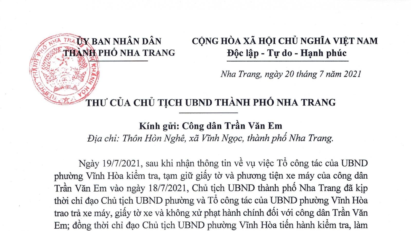 """Vụ """"Bánh mì không phải hàng thiết yếu"""": Chủ tịch TP Nha Trang xin lỗi"""