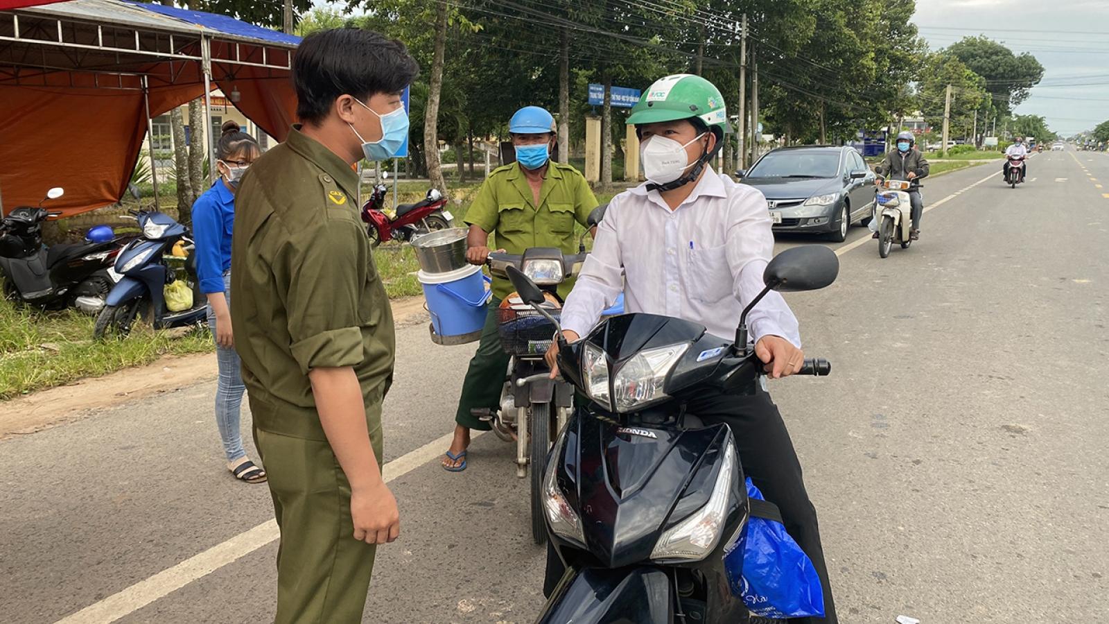 Tây Ninh xử phạt các trường hợp vi phạm thực hiện Chỉ thị 16 gần 600 triệu đồng
