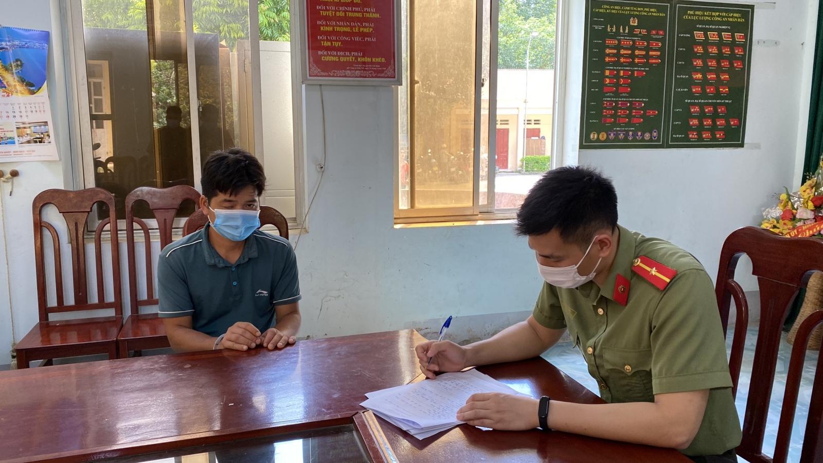 Bắt quả tang đối tượng đưa người sang Trung Quốc trái phép
