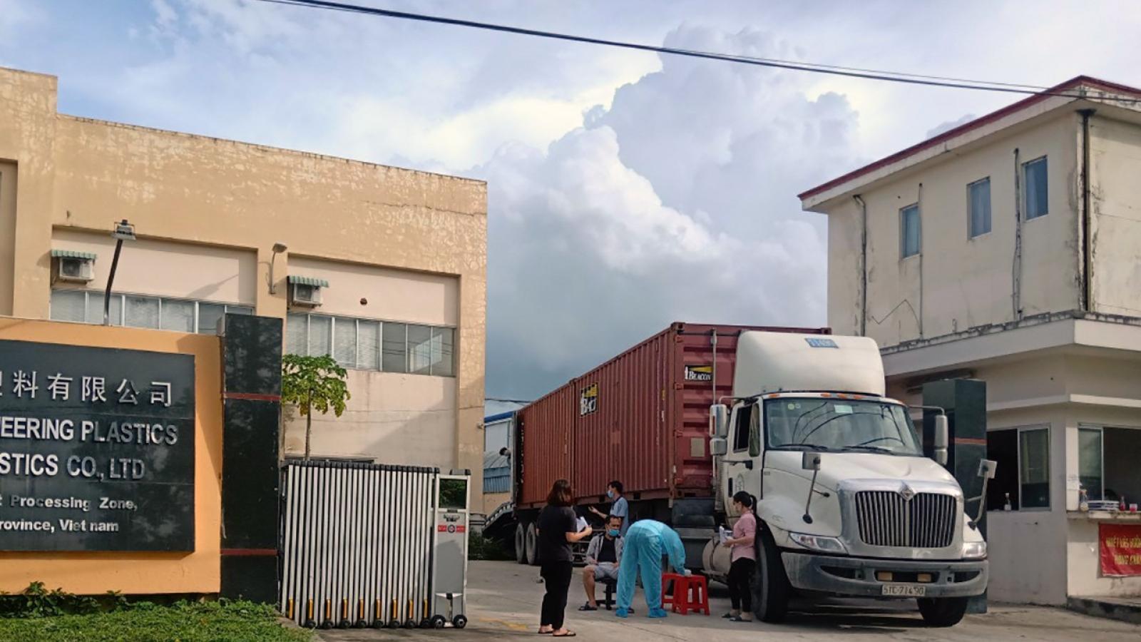 Các khu công nghiệp ở Tây Ninh vẫn tiềm ẩn nhiều nguy cơ lây nhiễm Covid-19