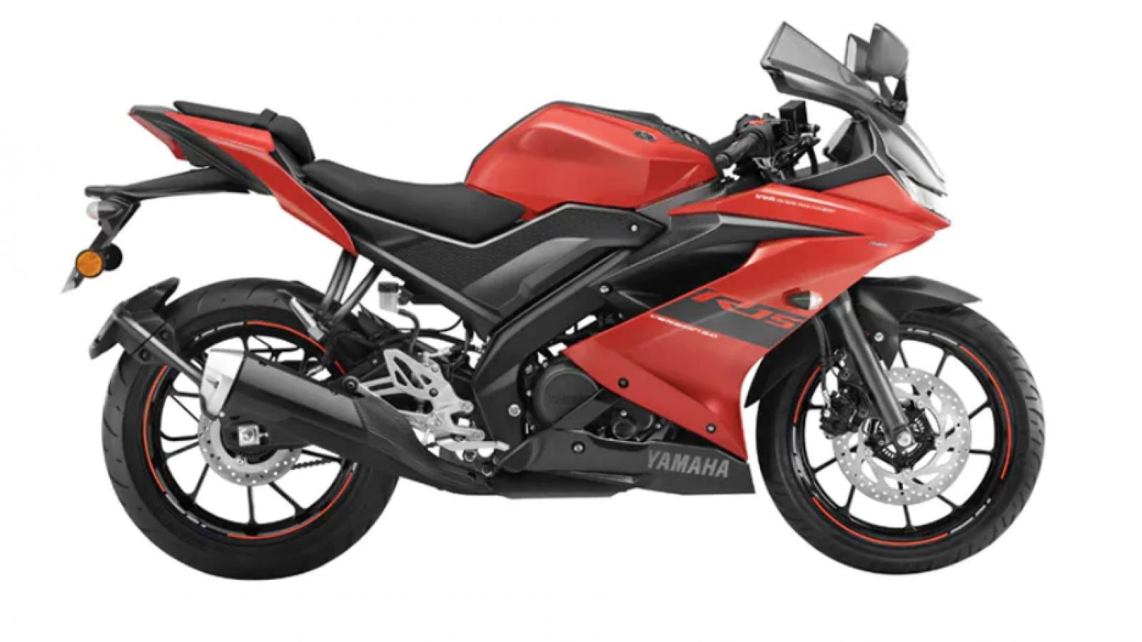Điều chỉnh giá bán Yamaha R15 và MT-15