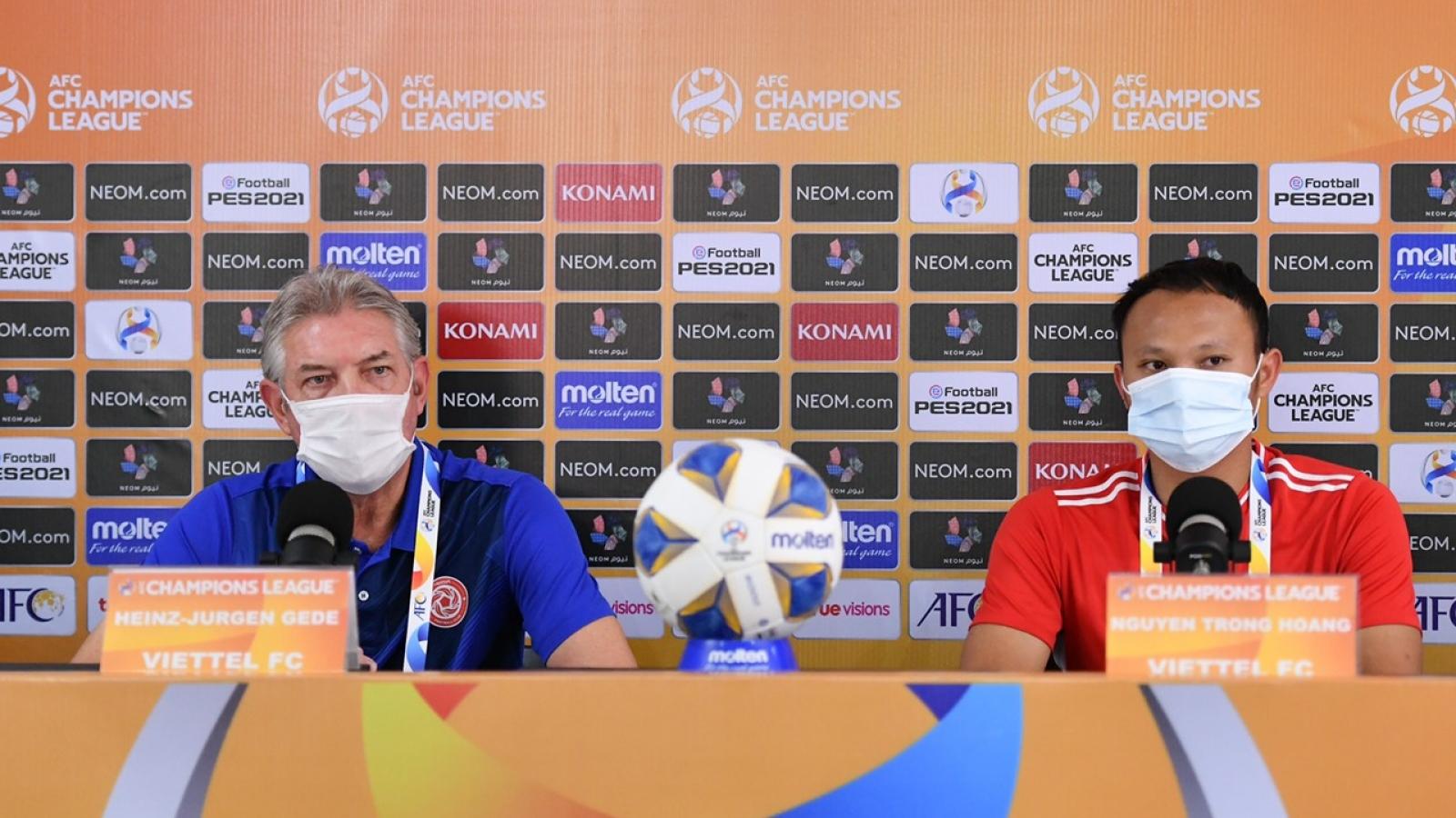 Viettel FC có bài tấn công mới, sẵn sàng tái đấu BG Pathum United ở AFC Champions League