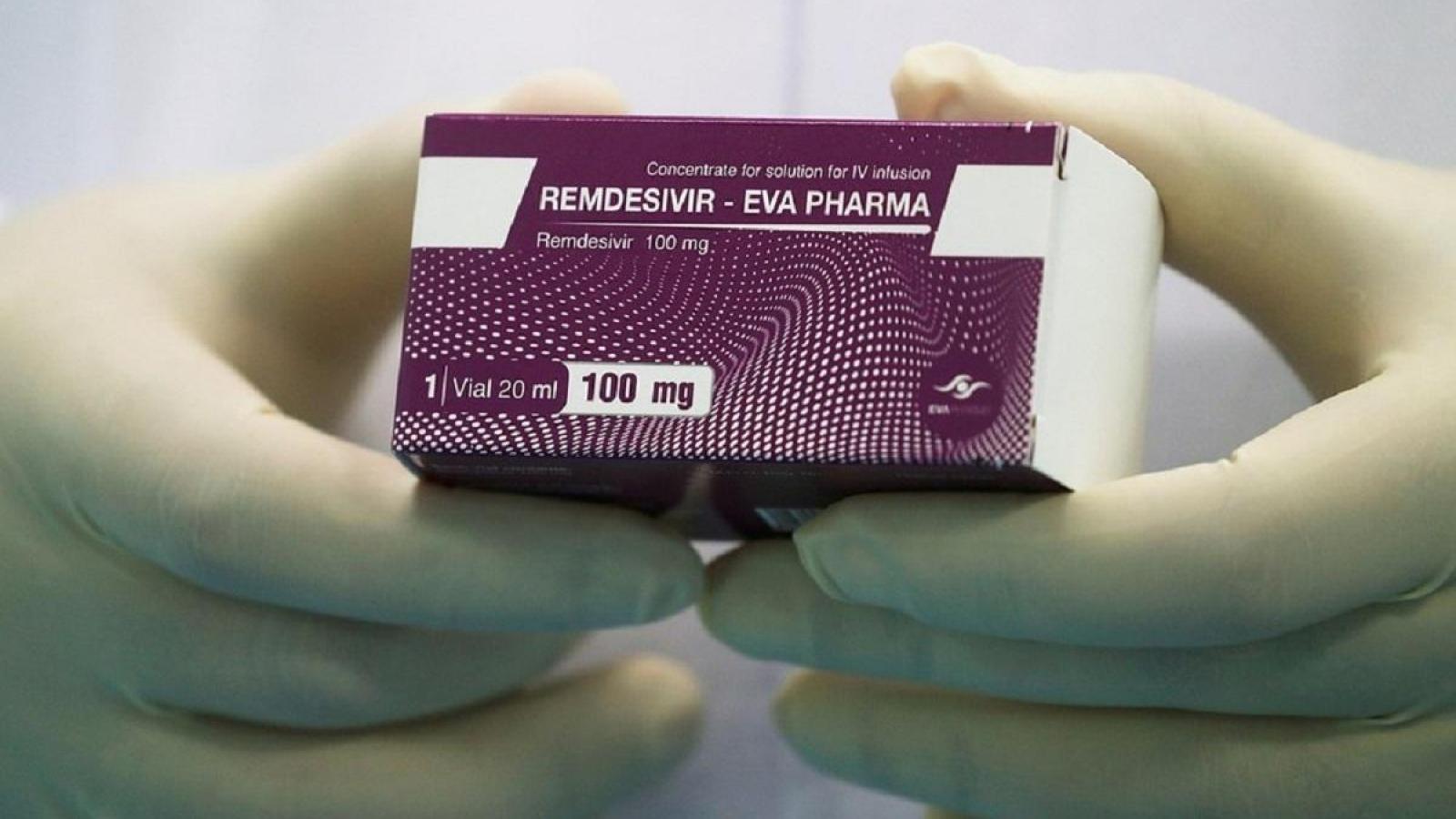 Bộ Y tế phân bổ hơn 103.000 lọ thuốc điều trị COVID-19 Remdesivir cho 33 đơn vị