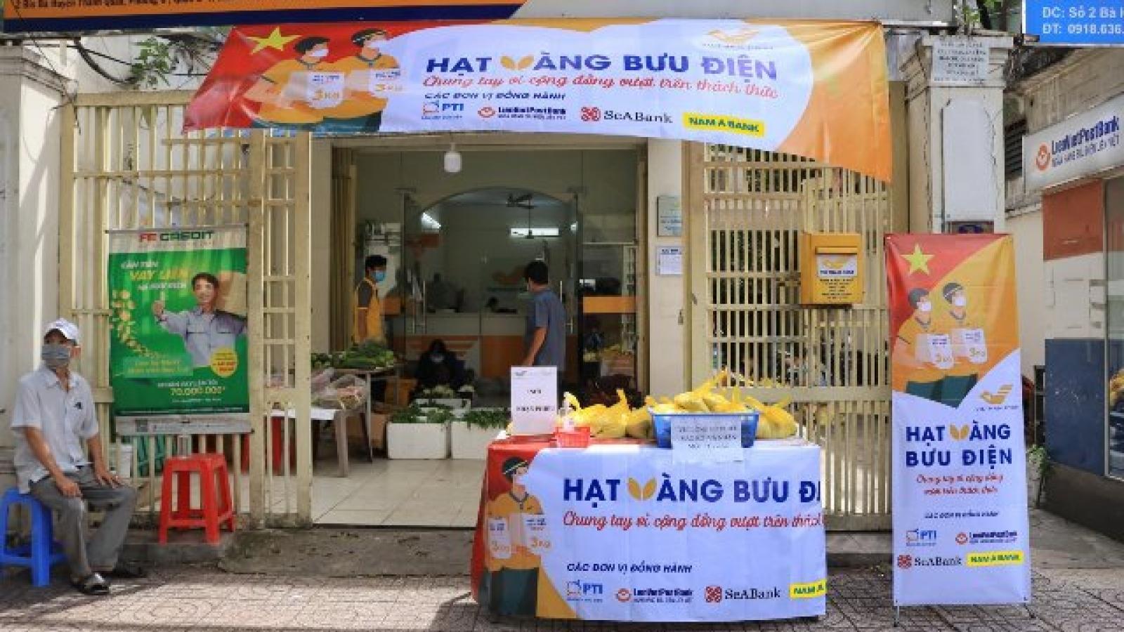 Ngành bưu điện hỗ trợ 700 tấn gạo cho các tỉnh phía Nam