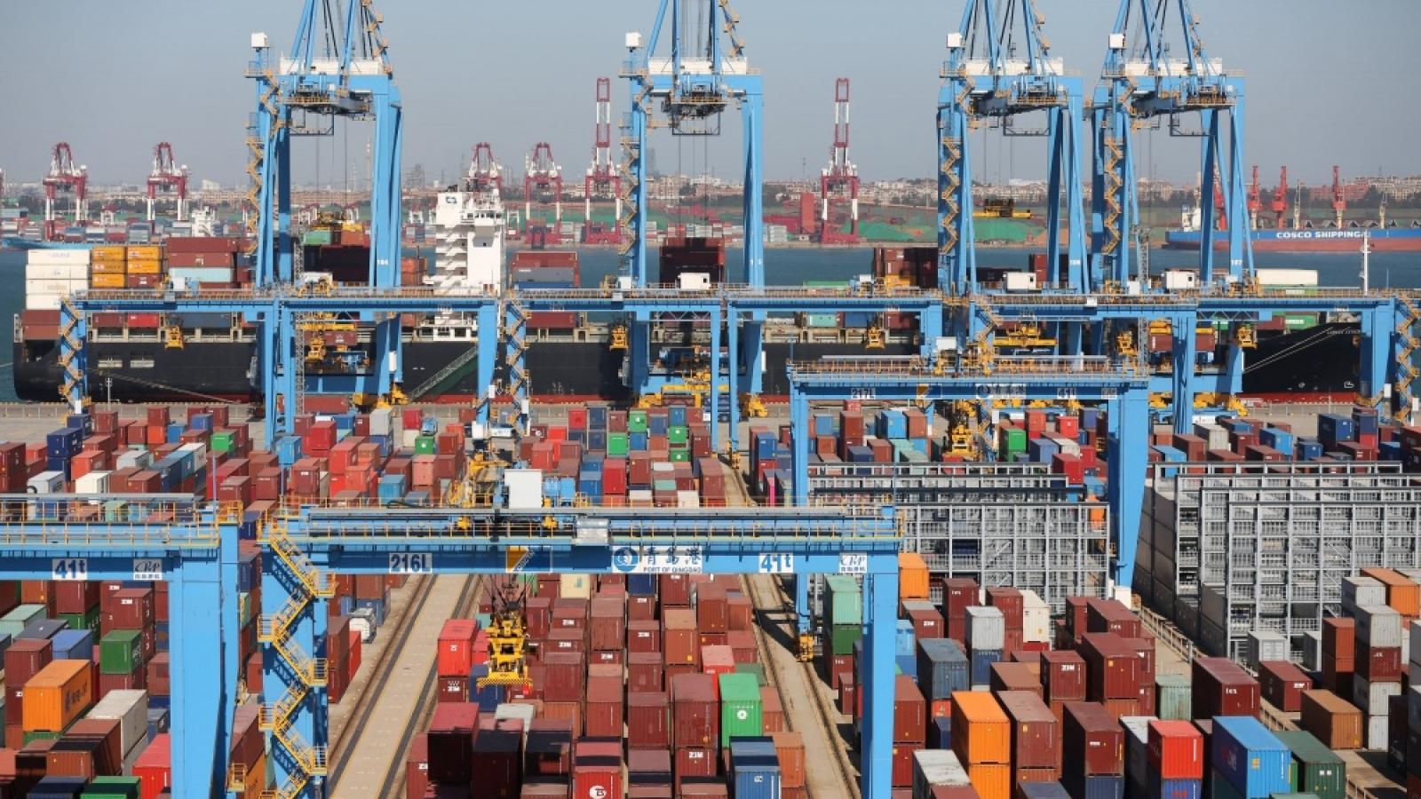 Thương mại Trung - Mỹ tiếp tục tăng trưởng mạnh