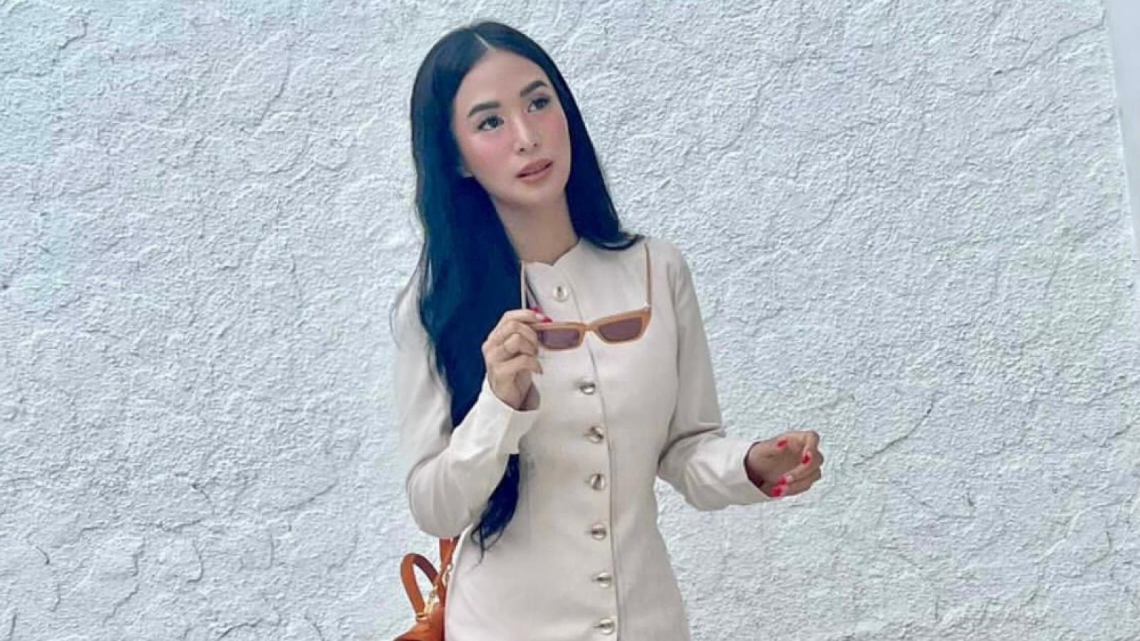 Mỹ nhân đa tài Heart Evangelista điệu đà trong thiết kế của nhà mốt Việt