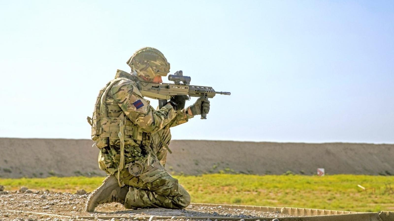 Anh lên kế hoạch thay súng bộ binh cá nhân từ 2025