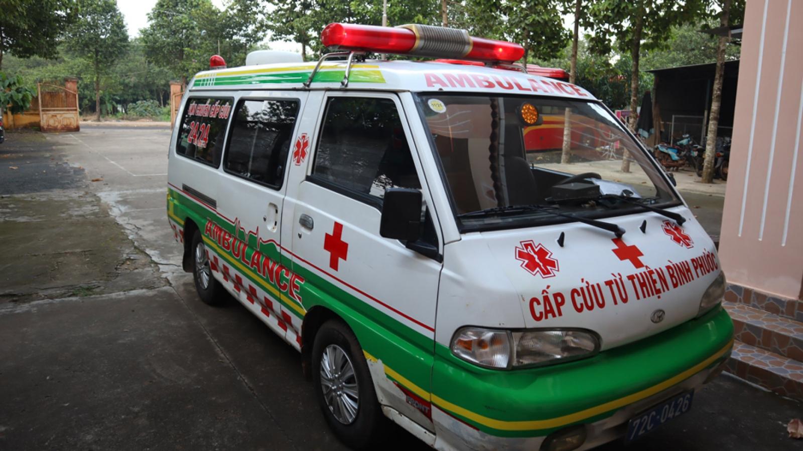 Tài xế xe cấp cứu từ thiện bị bắt vì vận chuyển ma túy