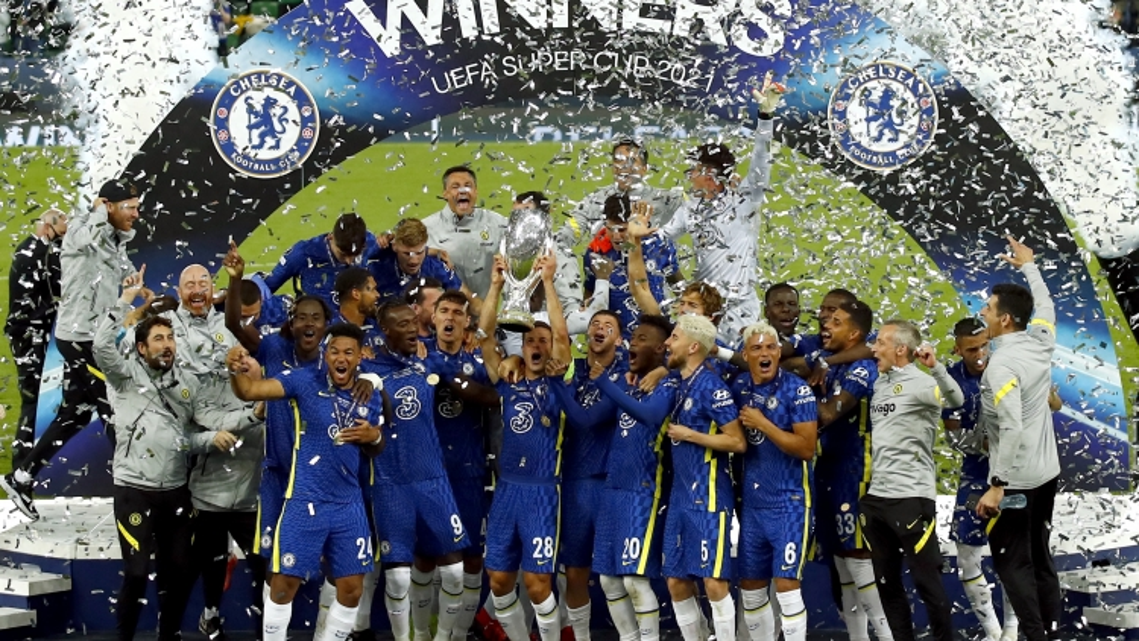 """""""Tuyệt chiêu"""" thay người đưa Chelsea đến danh hiệu Siêu cúp châu Âu 2021"""