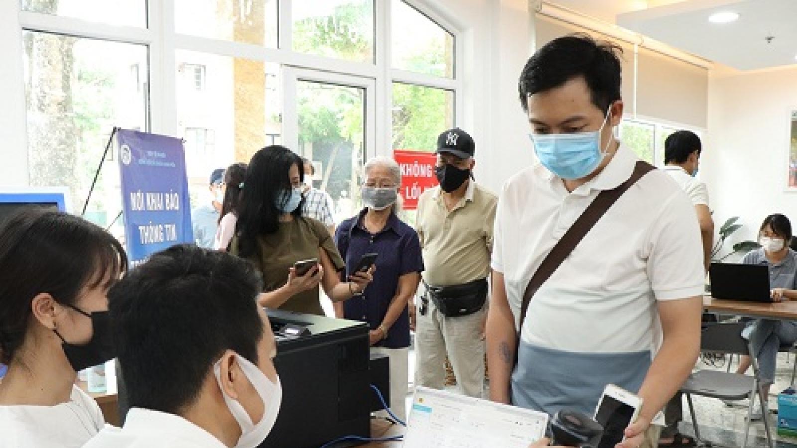 Bộ Công an thí điểm hệ thống quản lý tiêm chủng E-vaccine