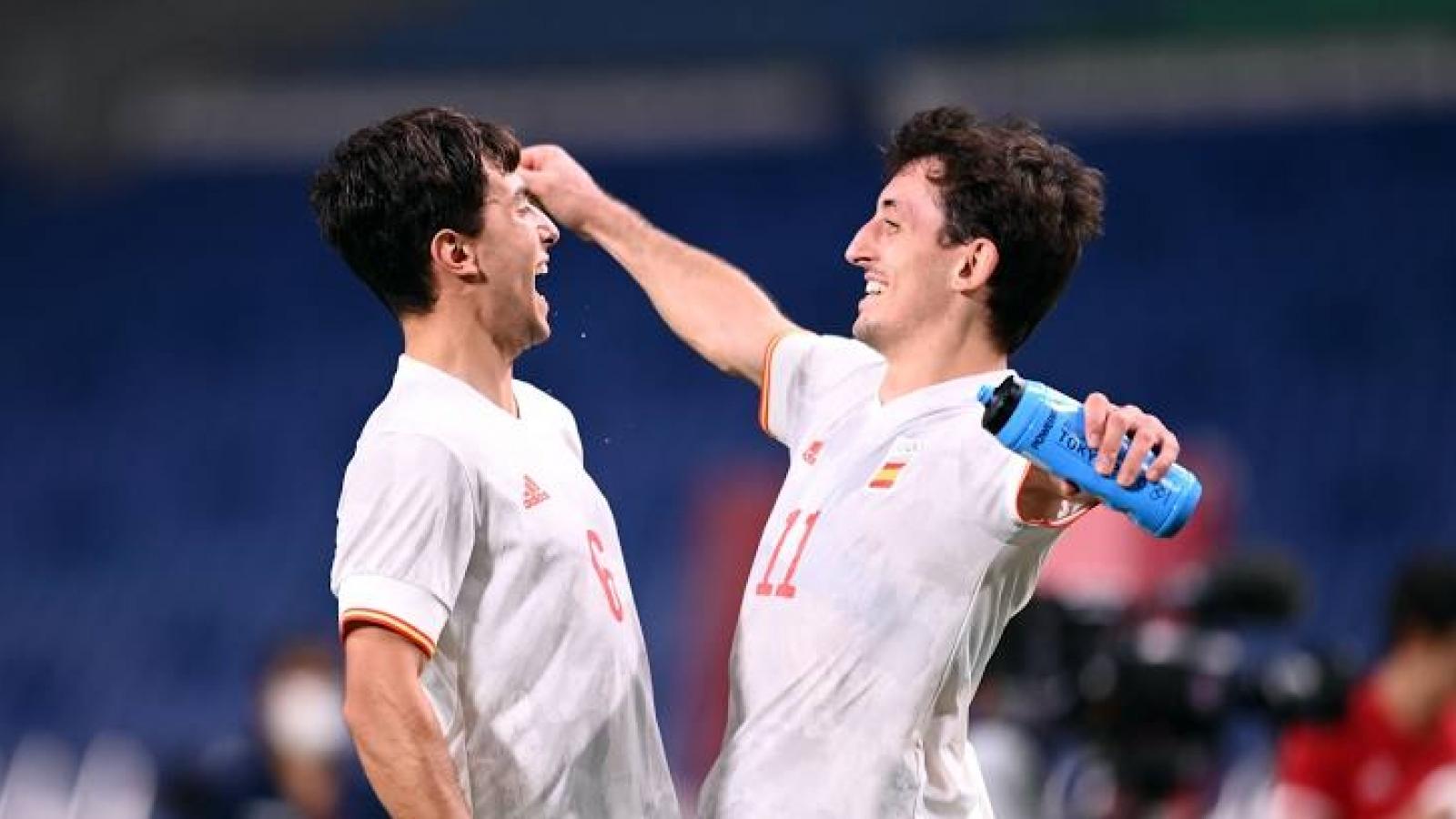 Lịch thi đấu bóng đá hôm nay 7/8: Tây Ban Nha đại chiến Brazil, Man City đấu Leicester