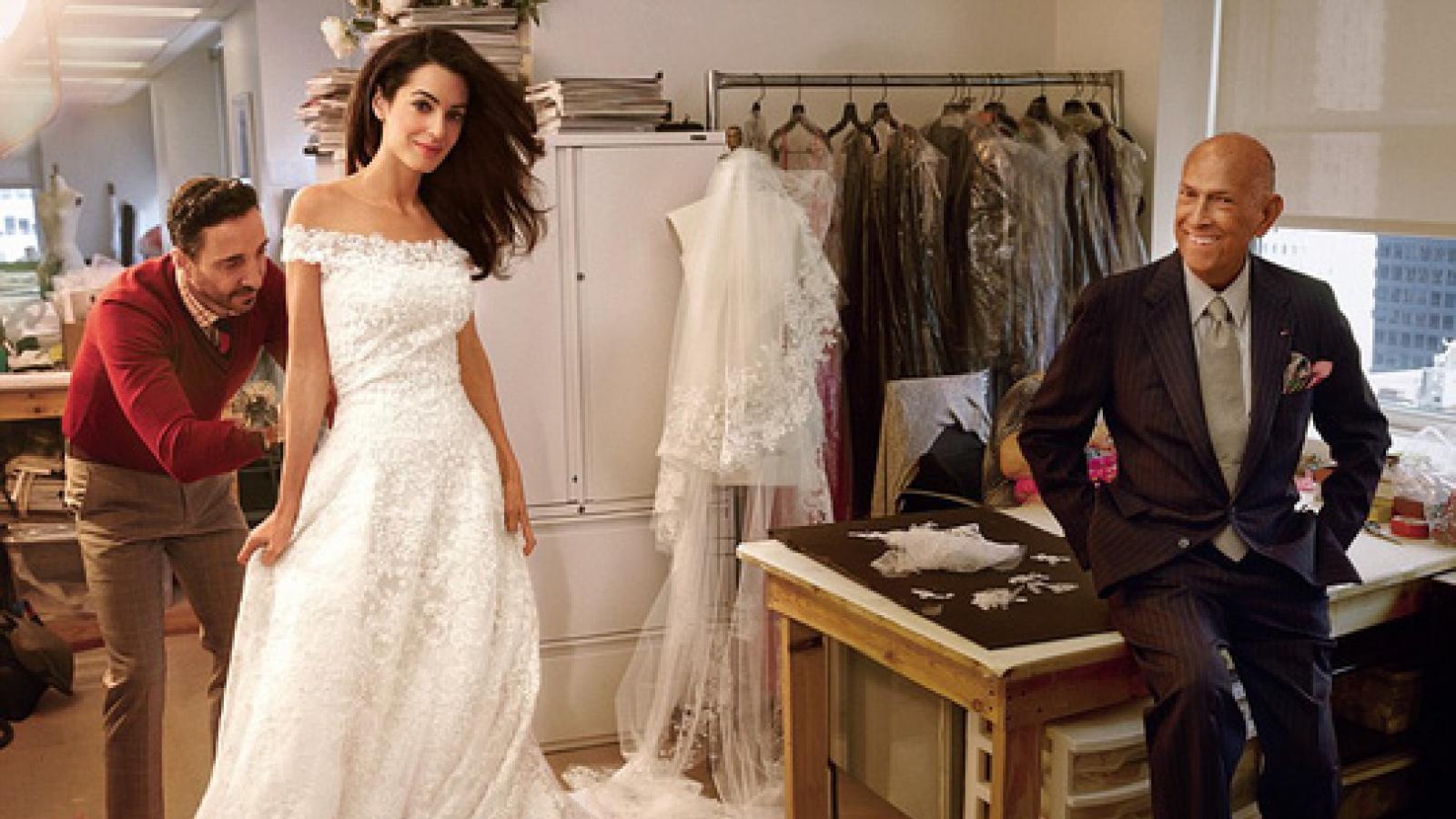 Oscar de la Renta - Bậc thầy của những thiết kế váy cưới