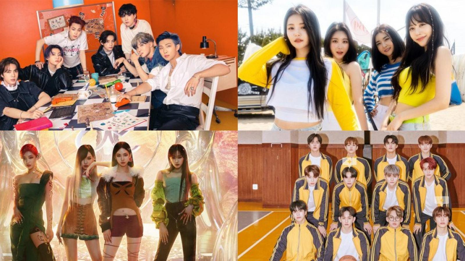 """BTS, Brave Girls thắng giải """"Thương hiệu của năm"""" tại Hàn Quốc"""