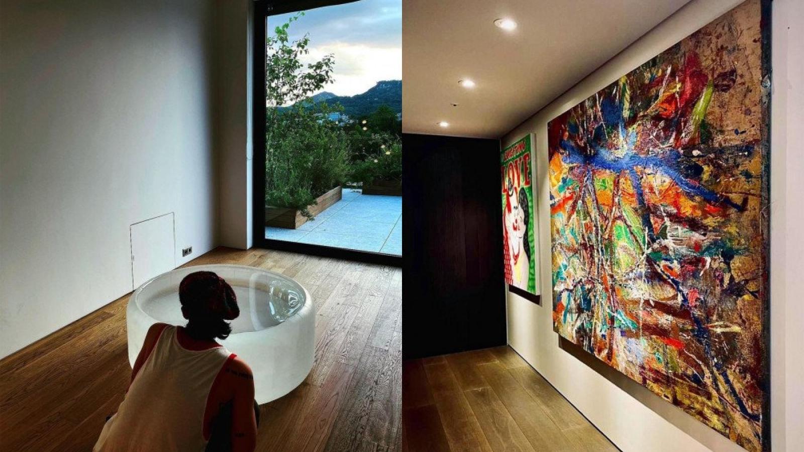 Hé lộ không gian nghệ thuật đắt đỏ trong căn hộ 170 tỷ đồng của G-Dragon