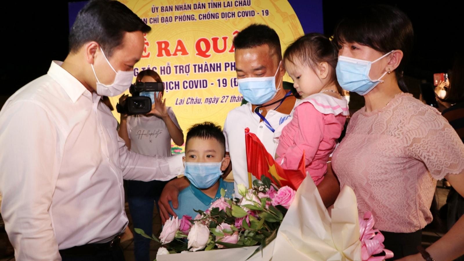 Lai Châu chi viện thêm 23 cán bộ y tế hỗ trợ TP.HCM chống dịch