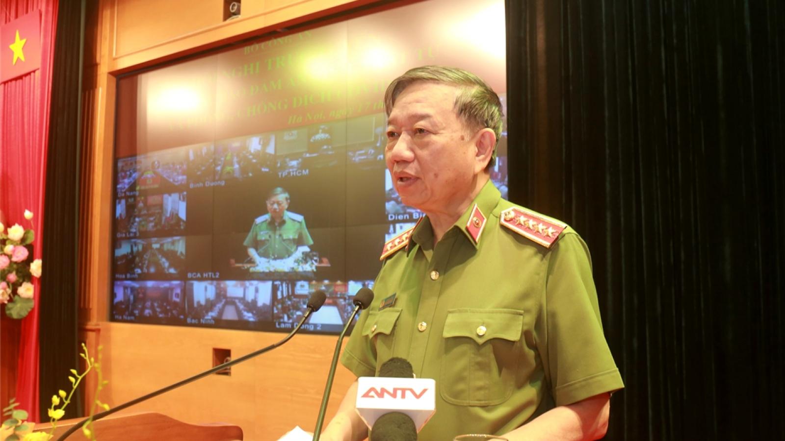 Đại tướng Tô Lâm: Chủ động giải quyết kịp thời các vụ việc phức tạp
