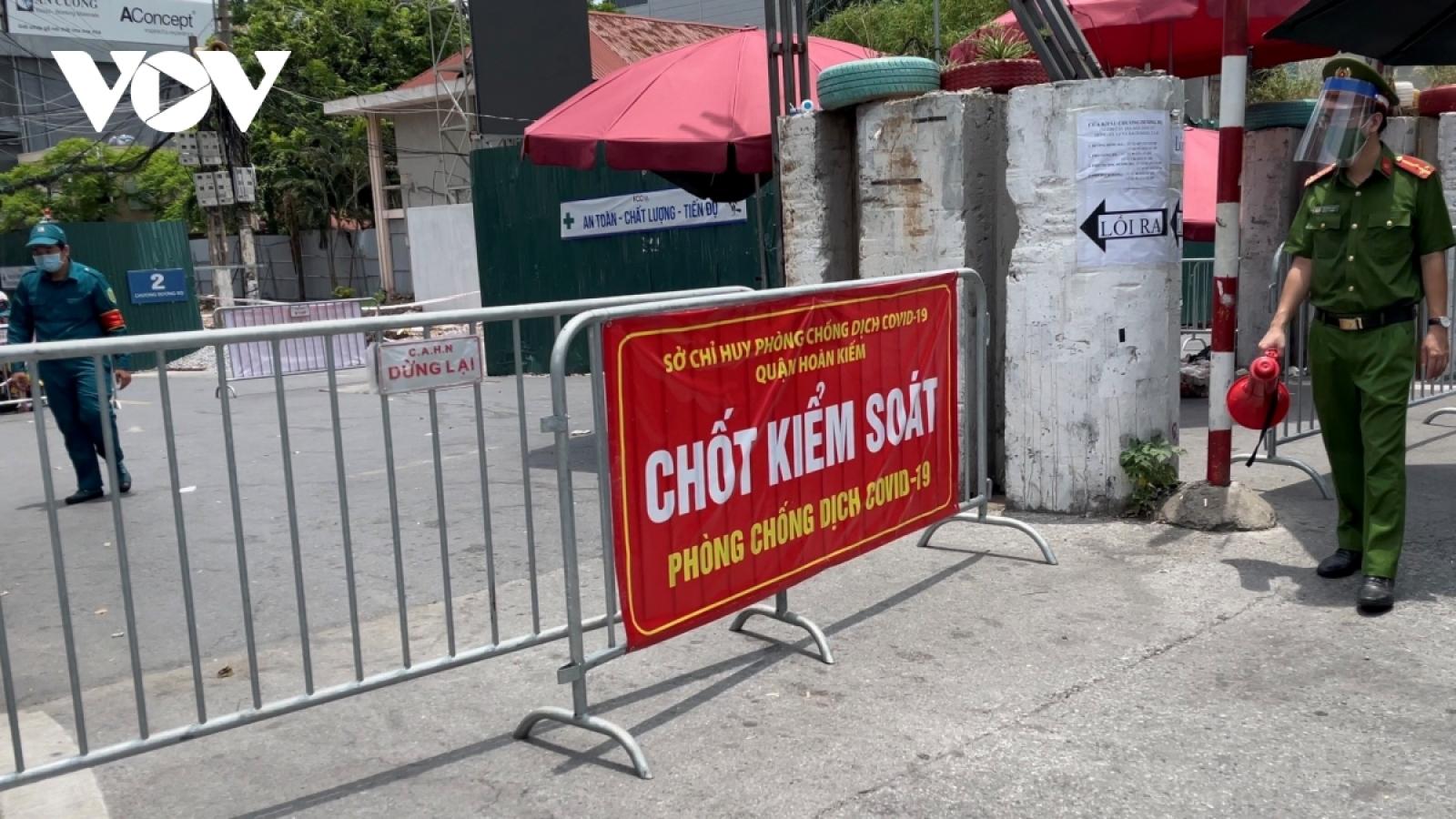 Hà Nội tiếp tục cách ly y tế phường Chương Dương đến 0h ngày 28/8