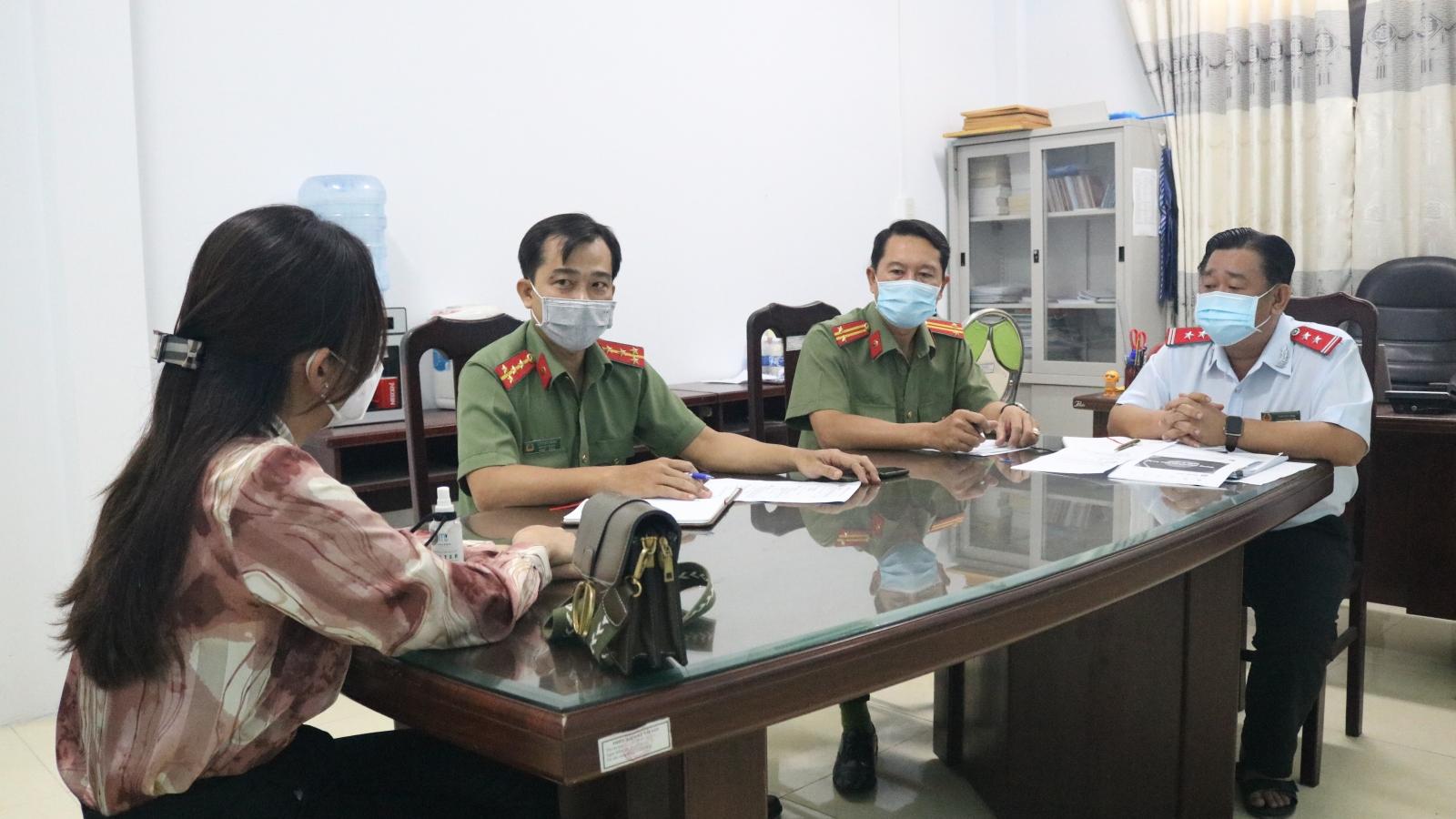 Xử lý 1 trường hợp đưa tin về dịch bệnh sai sự thật tại Kiên Giang