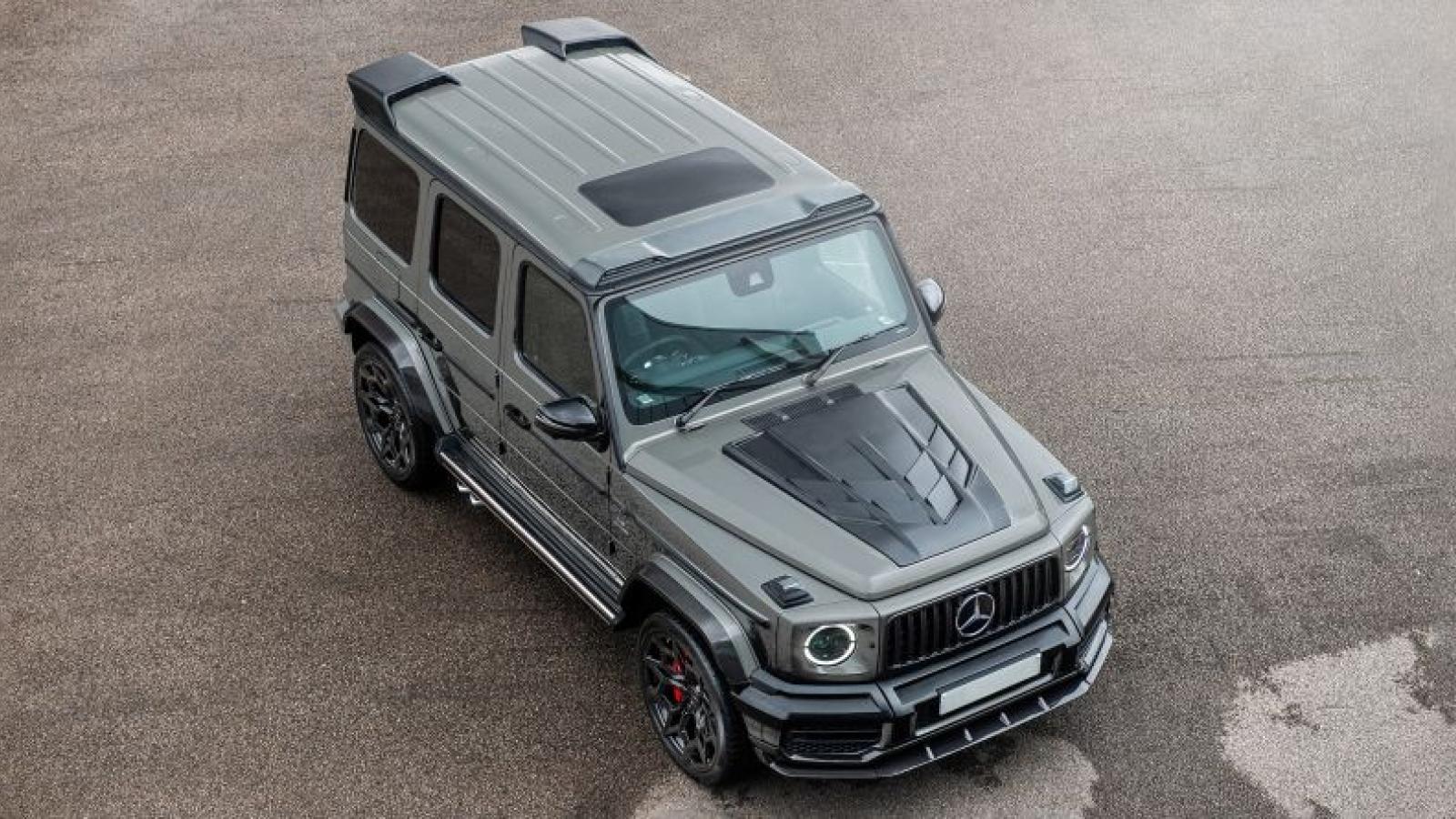Mercedes-Benz G-Class được độ gói Carbon giá hơn 300.000 USD