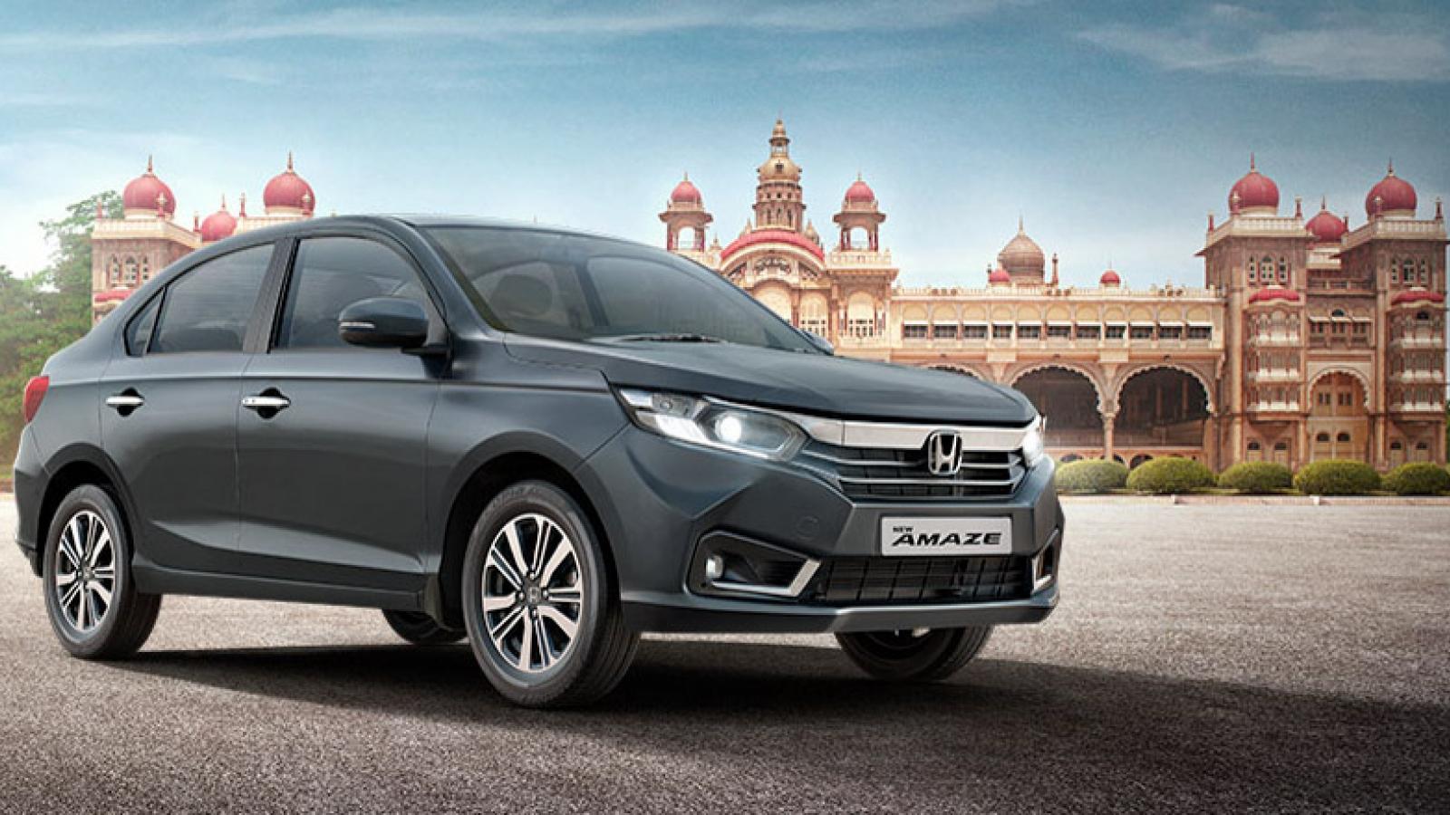 Khám phá Honda Amaze giá chưa tới 200 triệu tại Ấn Độ