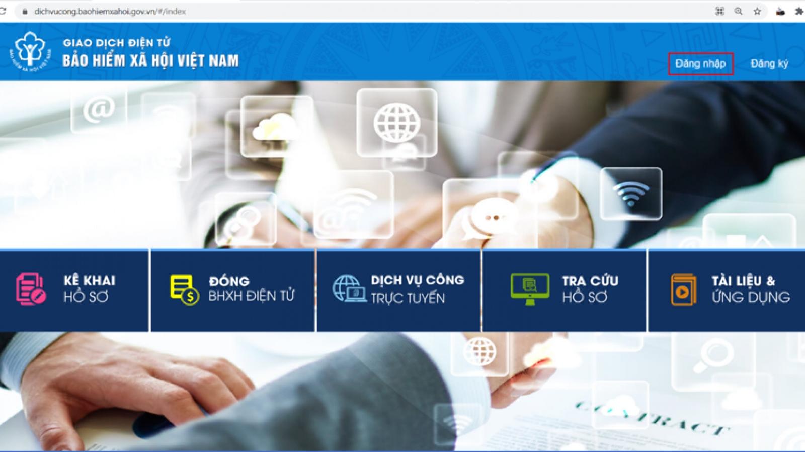 Người dân có thể thay đổi thông tin cá nhân với cơ quan BHXH qua khai báo trực tuyến