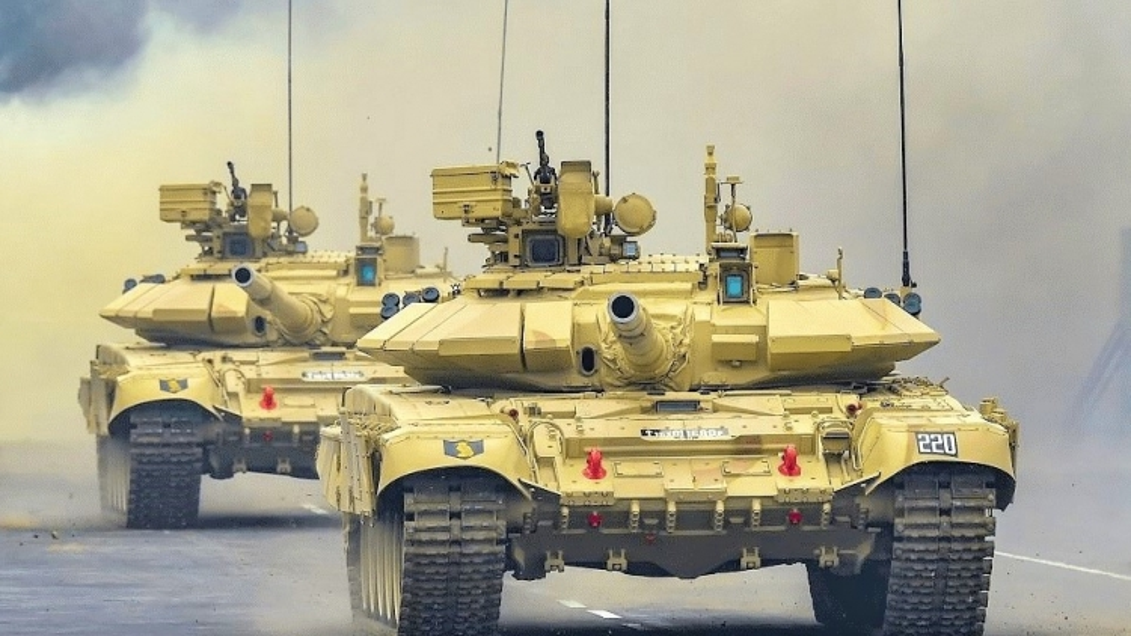 Nga và Ấn Độ đàm phán nâng cấp xe tăng chiến đấu chủ lực T-90S Bhishma