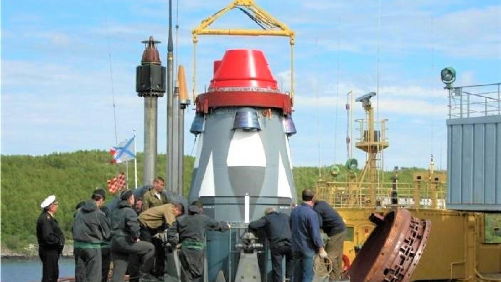 Phương án mới phóng tên lửa đạn đạo từ dưới nước vừa được Nga cấp bằng sáng chế