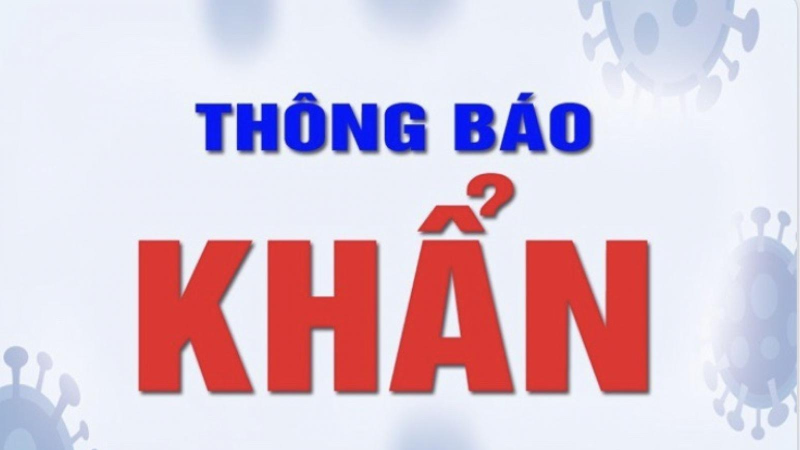 Thông báo khẩn tìm người đến cửa hàng tiện lợi D&H tại Định Công
