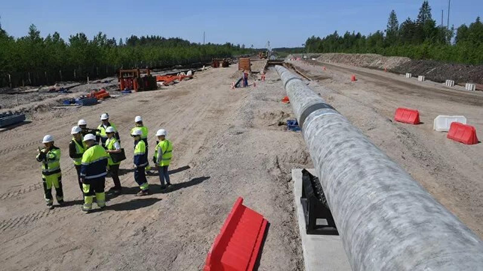 Mỹ áp đặt các biện pháp trừng phạt mới đối với dự án Dòng chảy phương Bắc-2