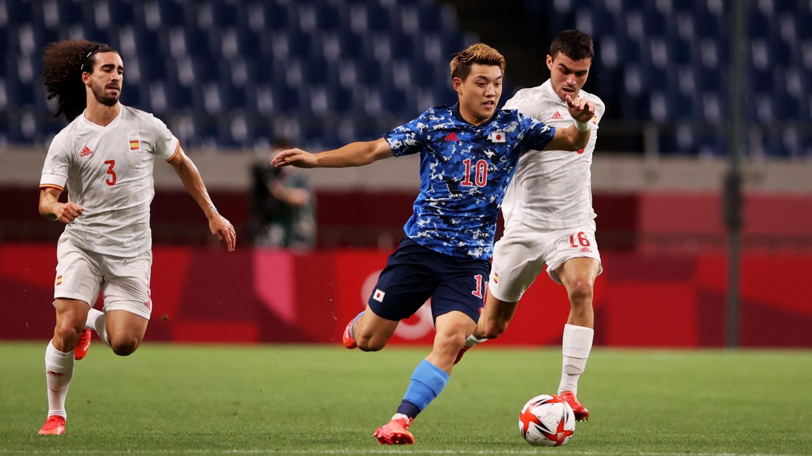 TRỰC TIẾP Nhật Bản 0-0 Tây Ban Nha: Đôi công rực lửa