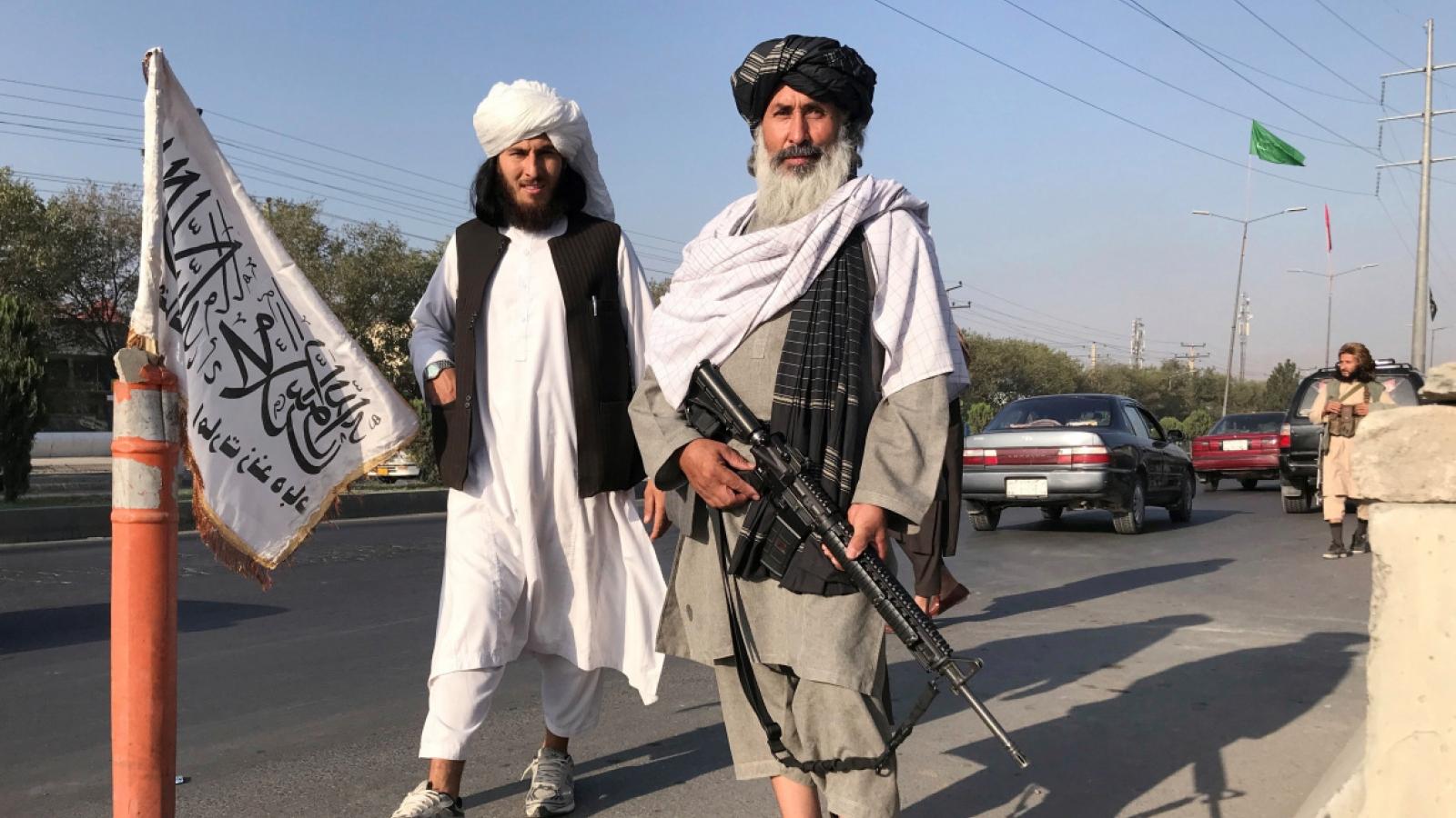 Khung cảnh Kabul sau khi Taliban giành quyền kiểm soát thủ đô của Afghanistan