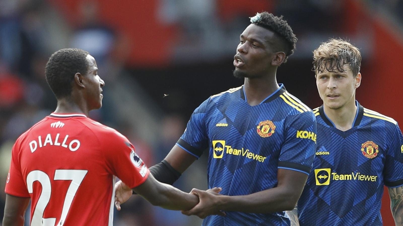 """Pogba lập kỷ lục """"siêu khủng"""" sau trận Southampton 1-1 MU"""