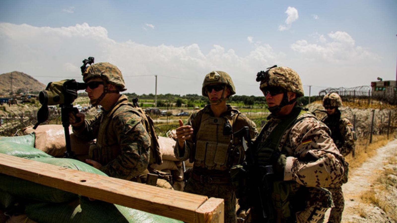 Những binh sỹ Mỹ cuối cùng đã rời Afghanistan