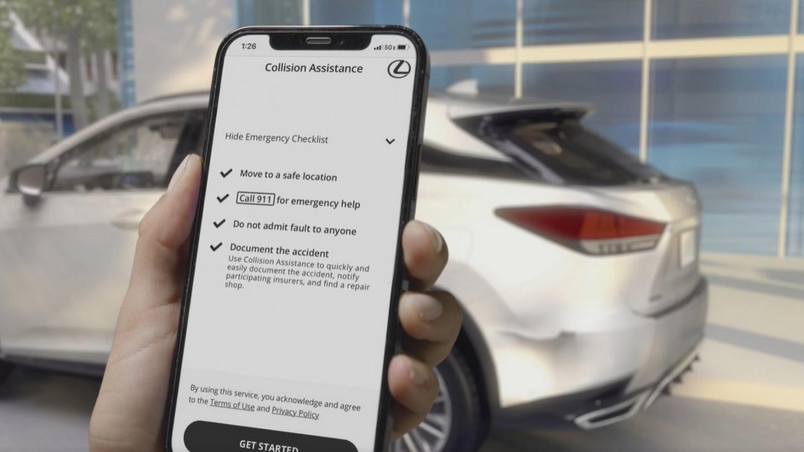 Toyota và Lexus giới thiệu dịch vụ hỗ trợ người dùng sau tai nạn