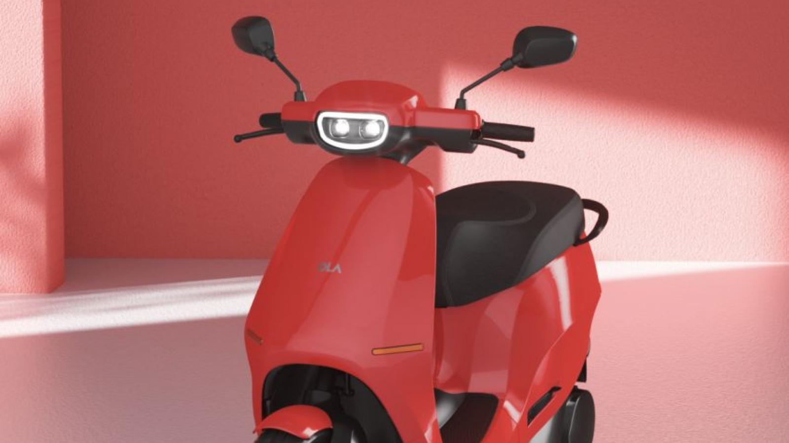 Xe máy điện Ola được trang bị cả công nghệ ô tô