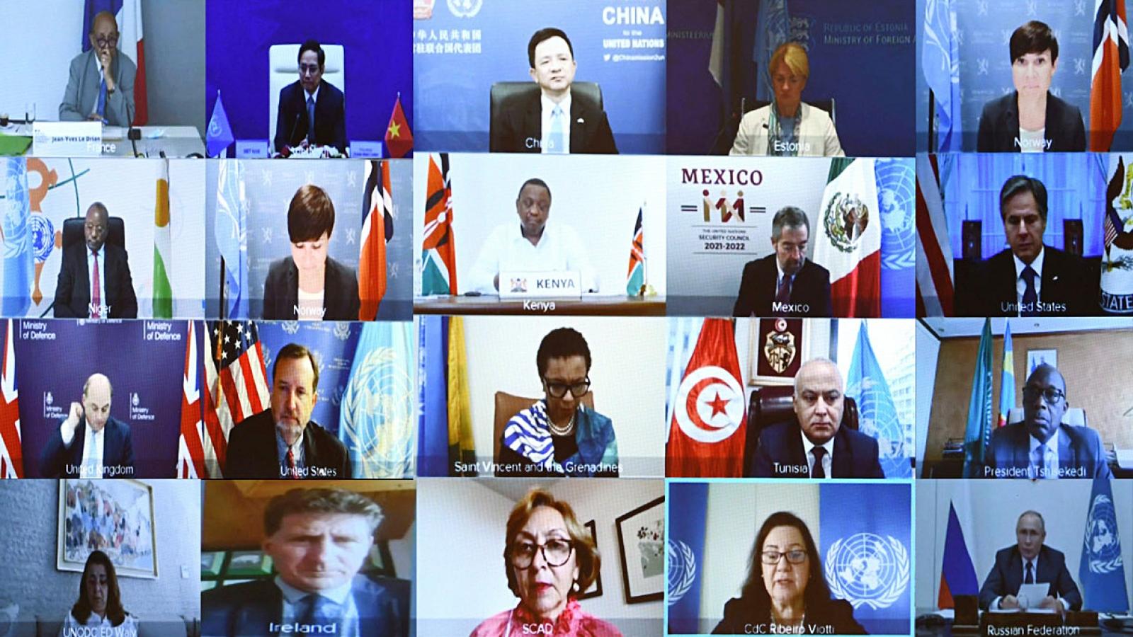 """Mỹ, Trung Quốc """"khẩu chiến"""" về vấn đề Biển Đông tại cuộc họp của Hội đồng bảo an"""
