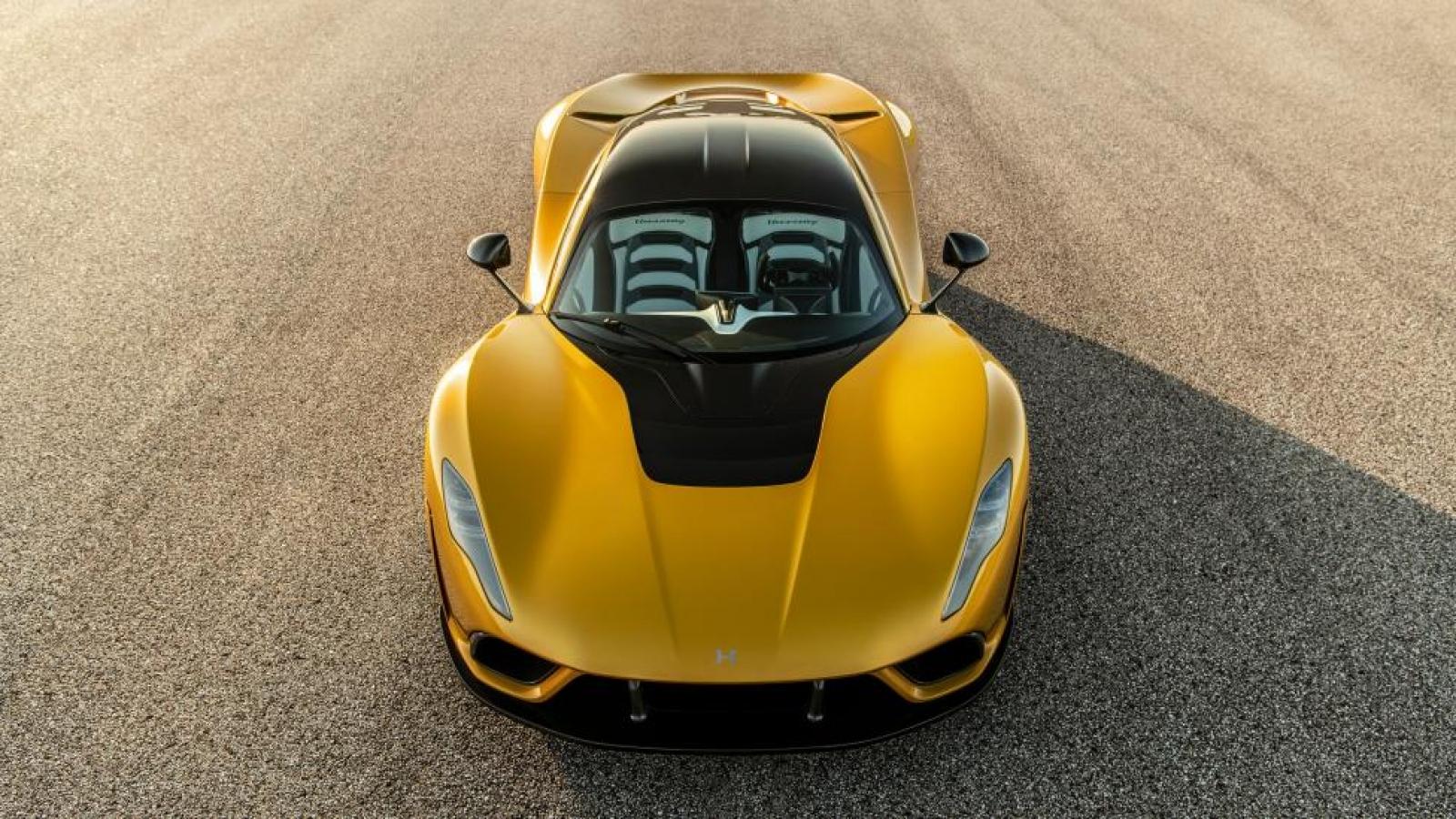 "Giá 2,1 triệu USD, siêu phẩm Hypercar Hennessey Venom F5 vẫn ""cháy hàng"""