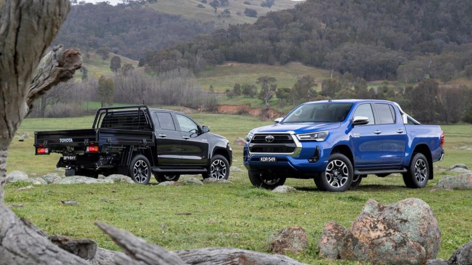 Toyota ra mắt phiên bản nâng cấp của Hilux và Fortuner