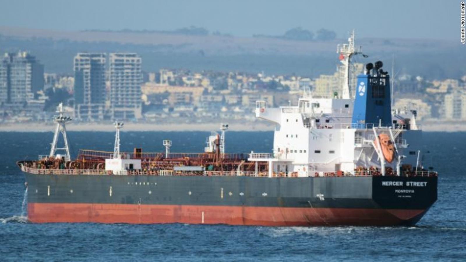 G7 lên án vụ tấn công tàu chở dầu triển Biển Arabia