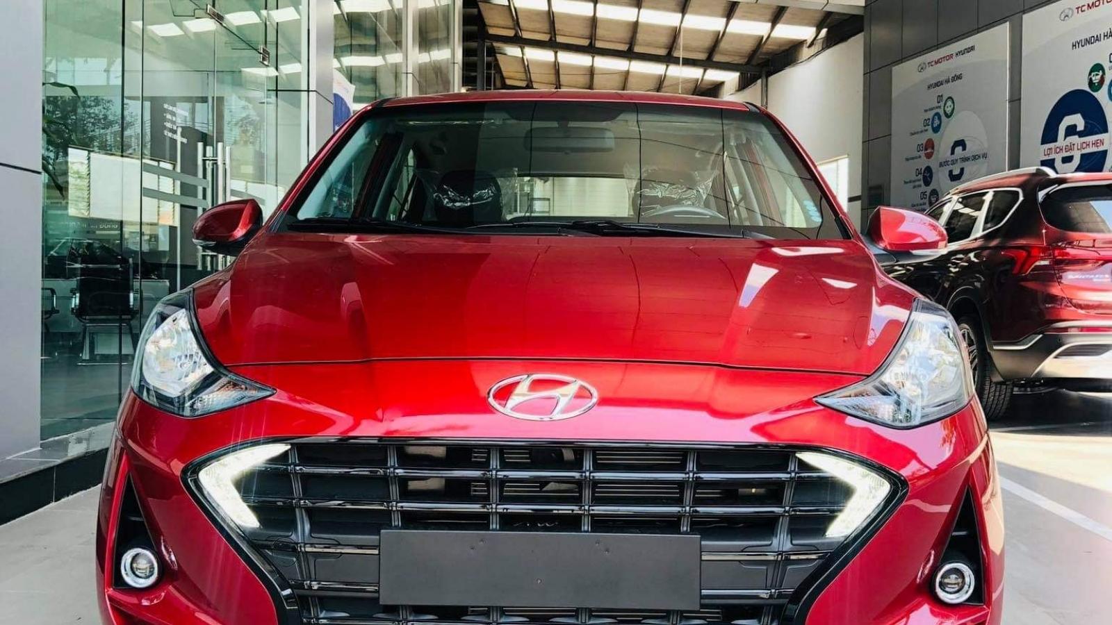 Bất ngờ lộ diện Hyundai Grand i10 2021 tại Việt Nam