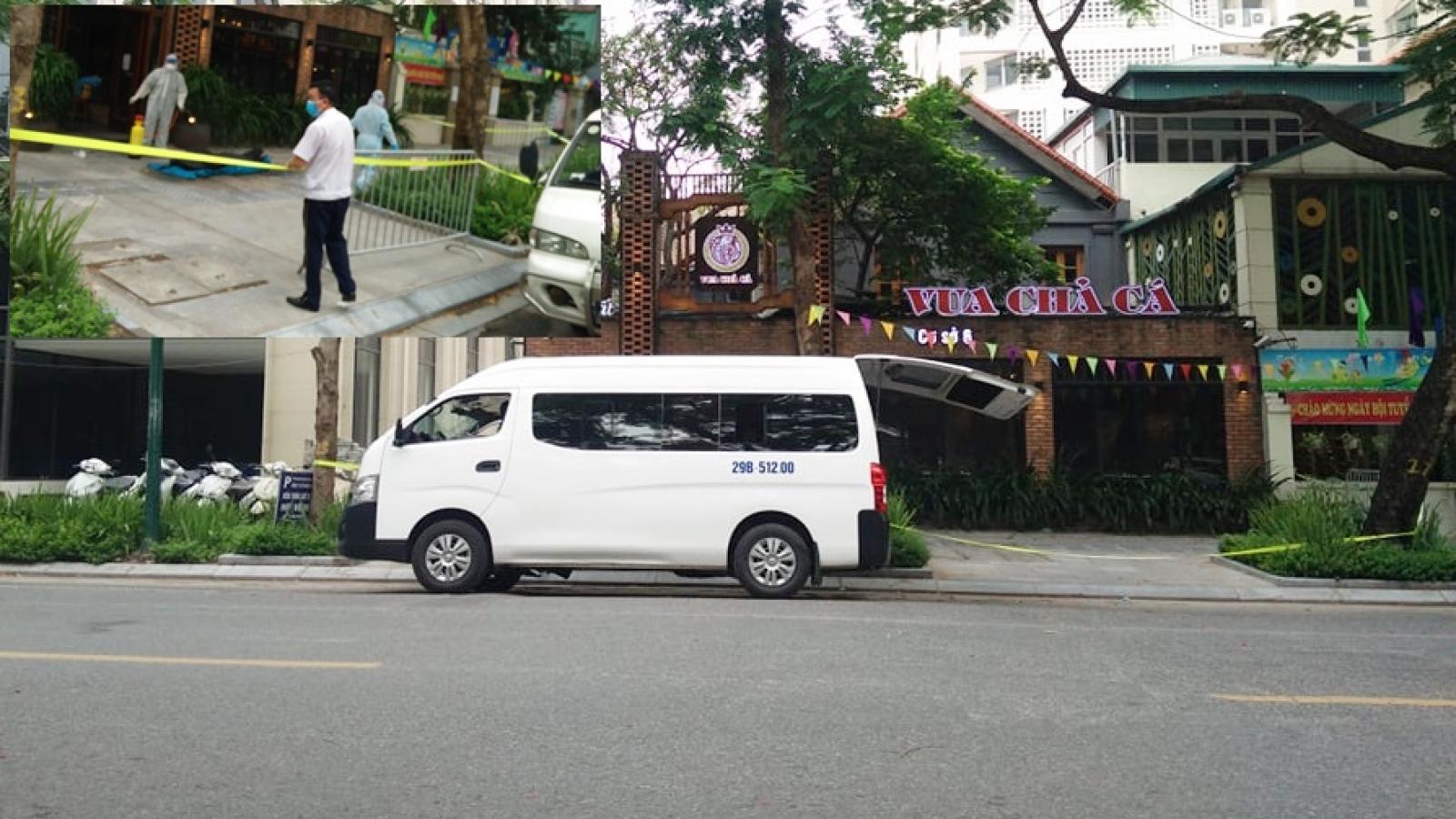 Công an điều tra vụ thi thể người trong nhà hàng tại Hà Nội