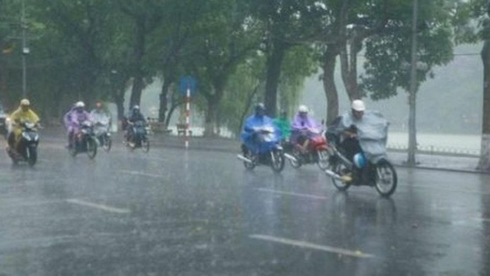 Thời tiết hôm nay (13/8): Nhiều địa phương trên cả nước có mưa vừa, mưa to